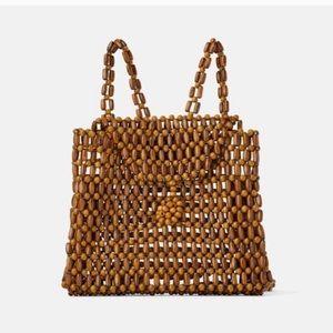 Zara Handmade Beaded Backpack
